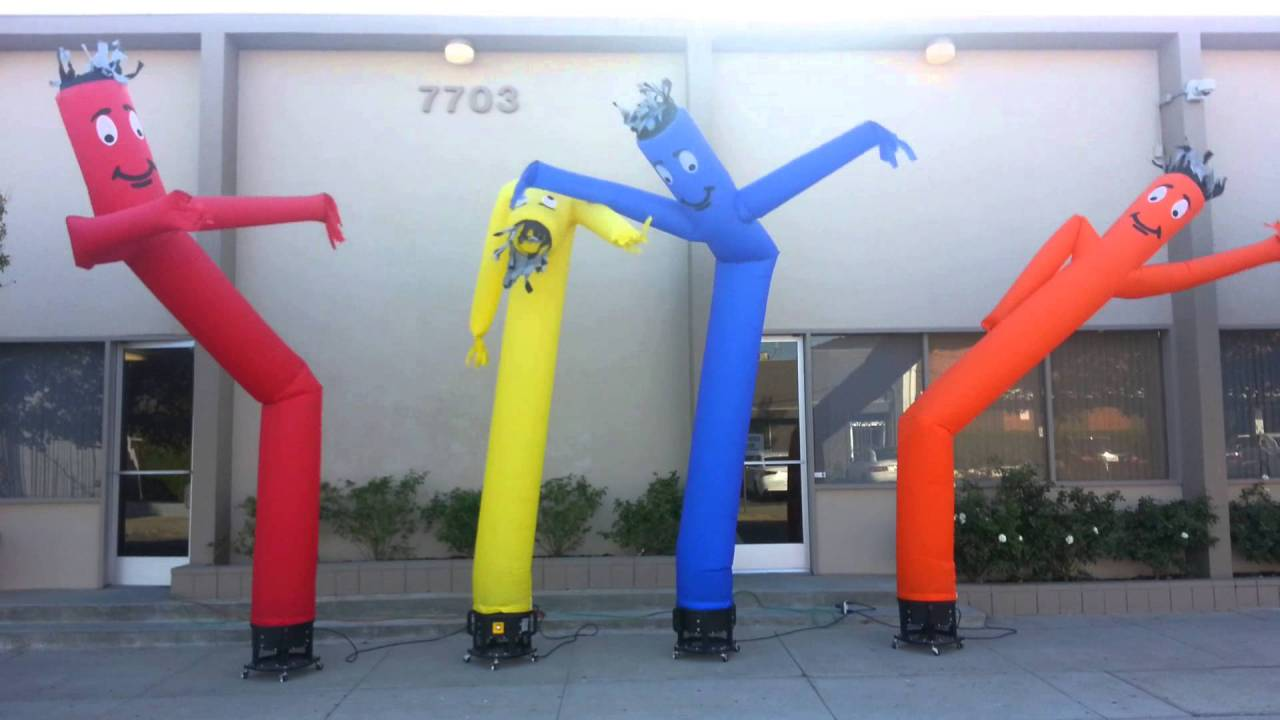 dancing puppets